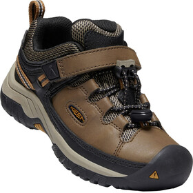 Keen Targhee WP Shoes Children dark earth/golden brown